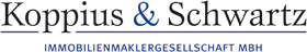 Hier sehen Sie das Logo von Koppius & Schwartz Immobilienmaklergesellschaft mbH