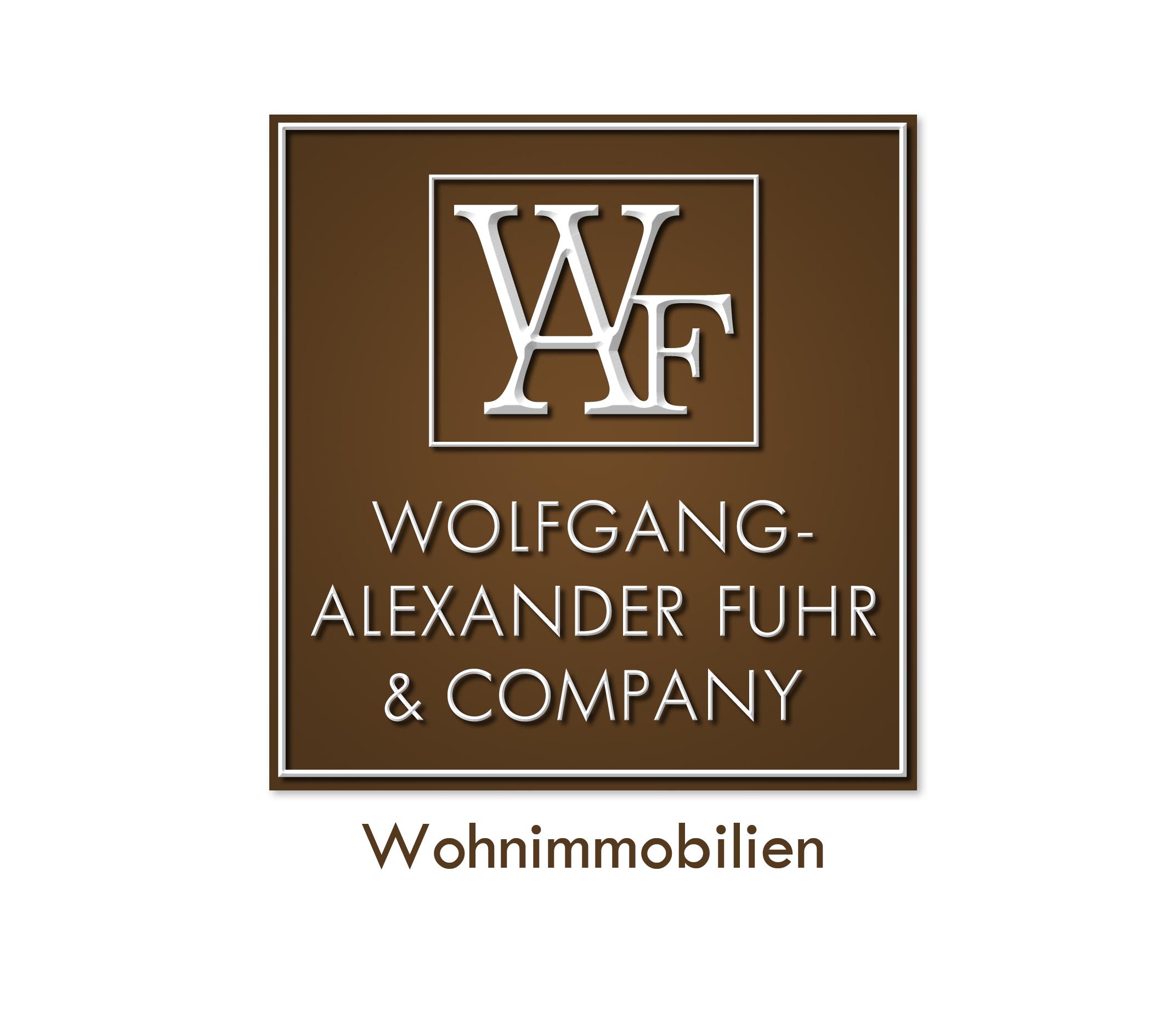 Hier sehen Sie das Logo von WAF & Company Immobilien