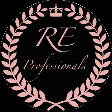 Hier sehen Sie das Logo von RE Professionals