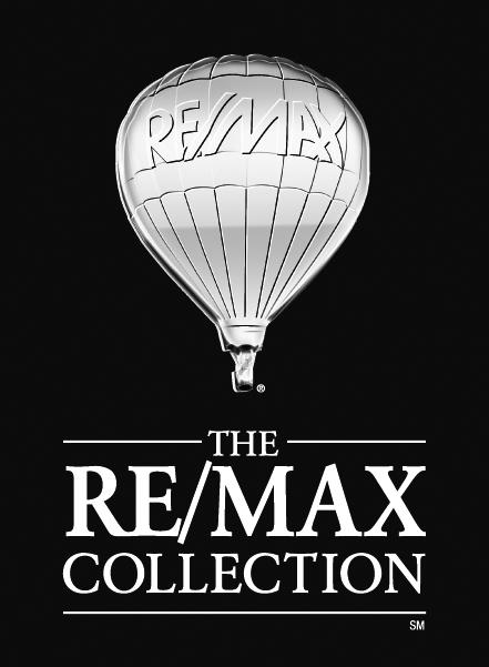 Hier sehen Sie das Logo von RE/MAX Living