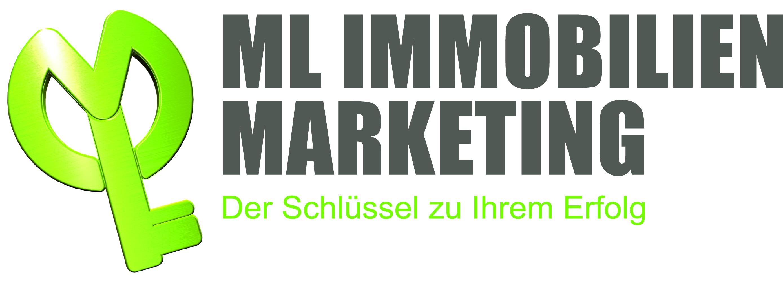 Hier sehen Sie das Logo von ML Immobilien Marketing