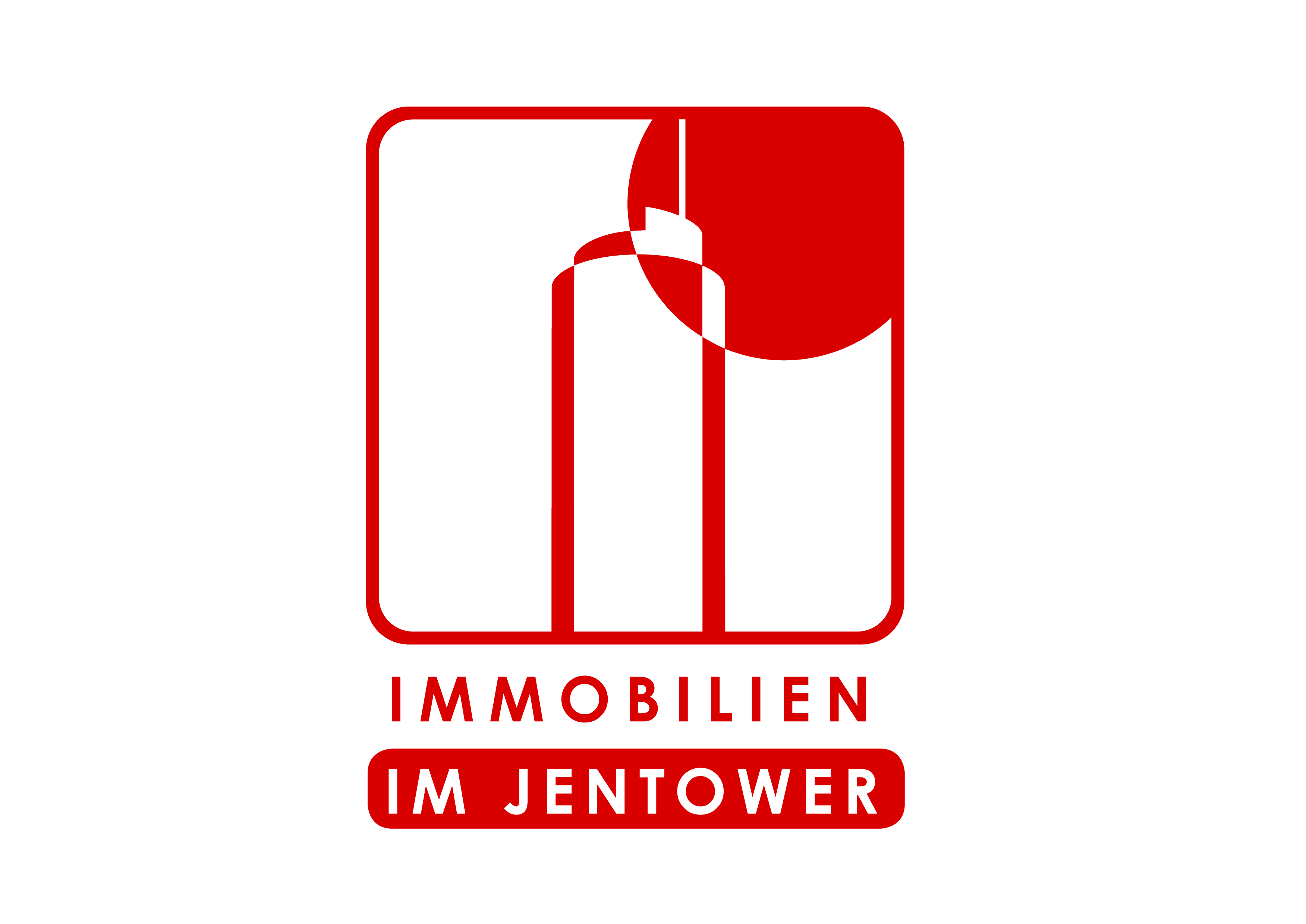 Hier sehen Sie das Logo von Immobilien im Jentower GmbH