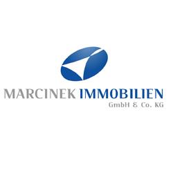 Hier sehen Sie das Logo von Marcinek Immobilien GmbH & Co. KG
