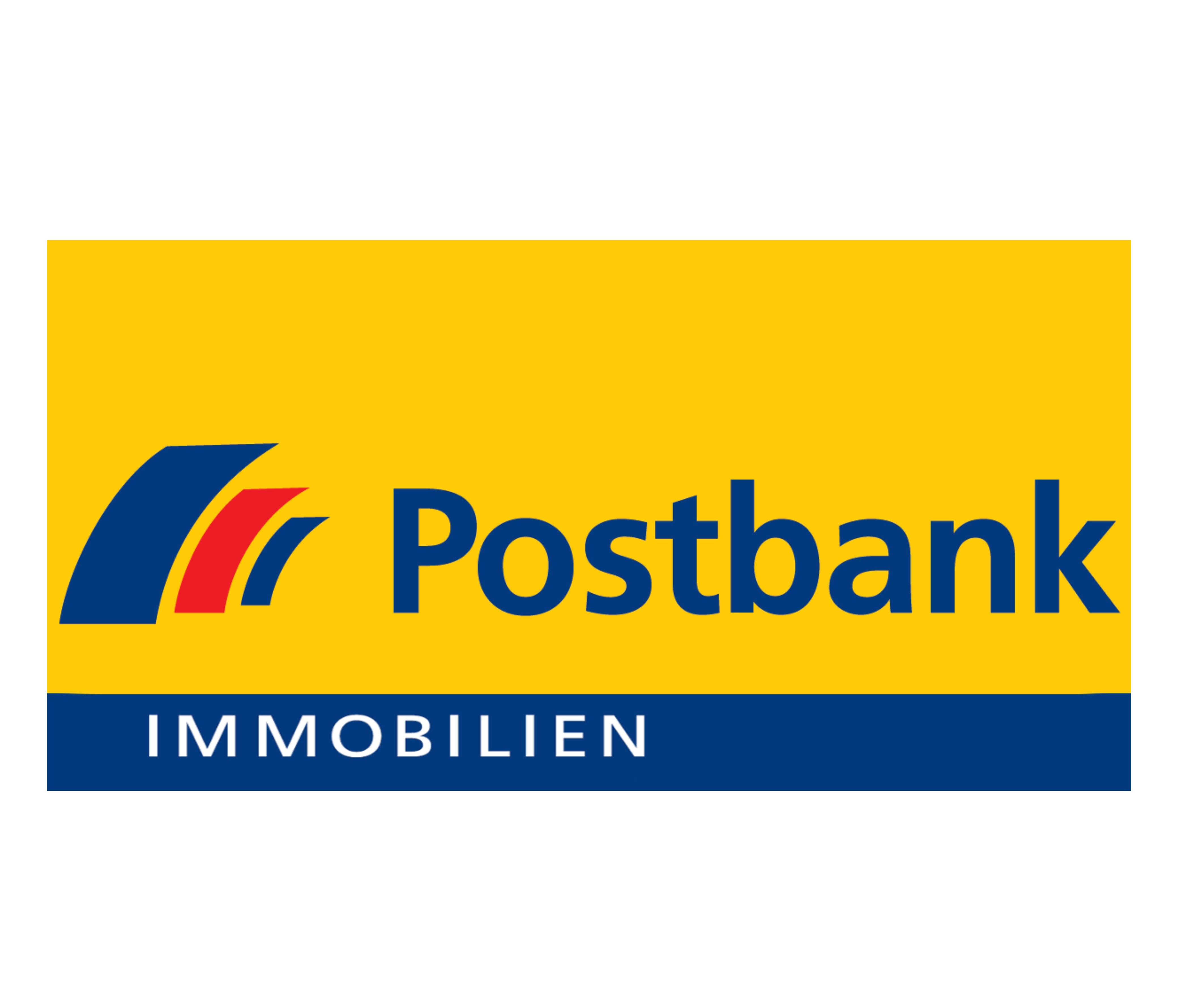 Hier sehen Sie das Logo von Postbank Immobilien