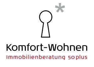 Hier sehen Sie das Logo von Komfort-Wohnen * Immobilienberatung 50plus
