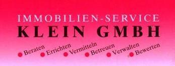Hier sehen Sie das Logo von Immobilien-Service Klein GmbH