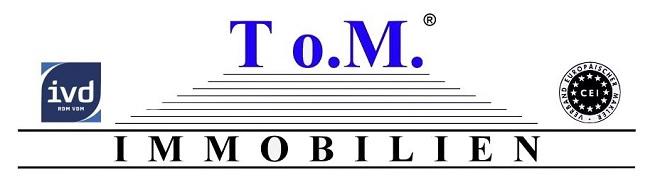 Hier sehen Sie das Logo von To.M. Immobilien