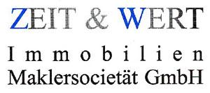 Hier sehen Sie das Logo von ZEIT & WERT Immobilien