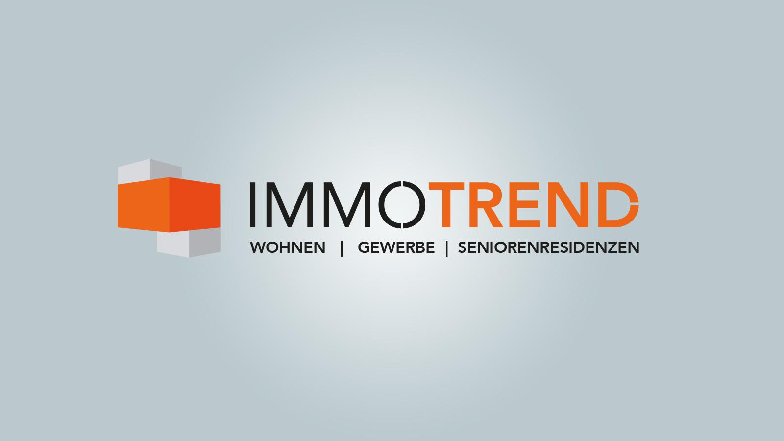 Hier sehen Sie das Logo von Immotrend-Immobilien