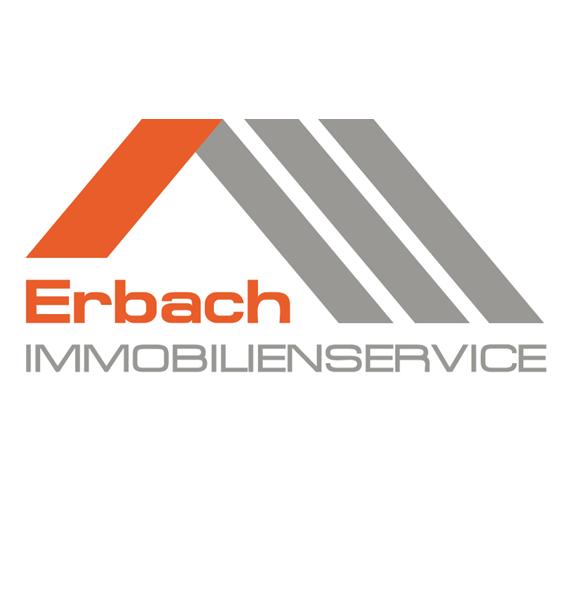 Hier sehen Sie das Logo von Erbach Immobilienservice