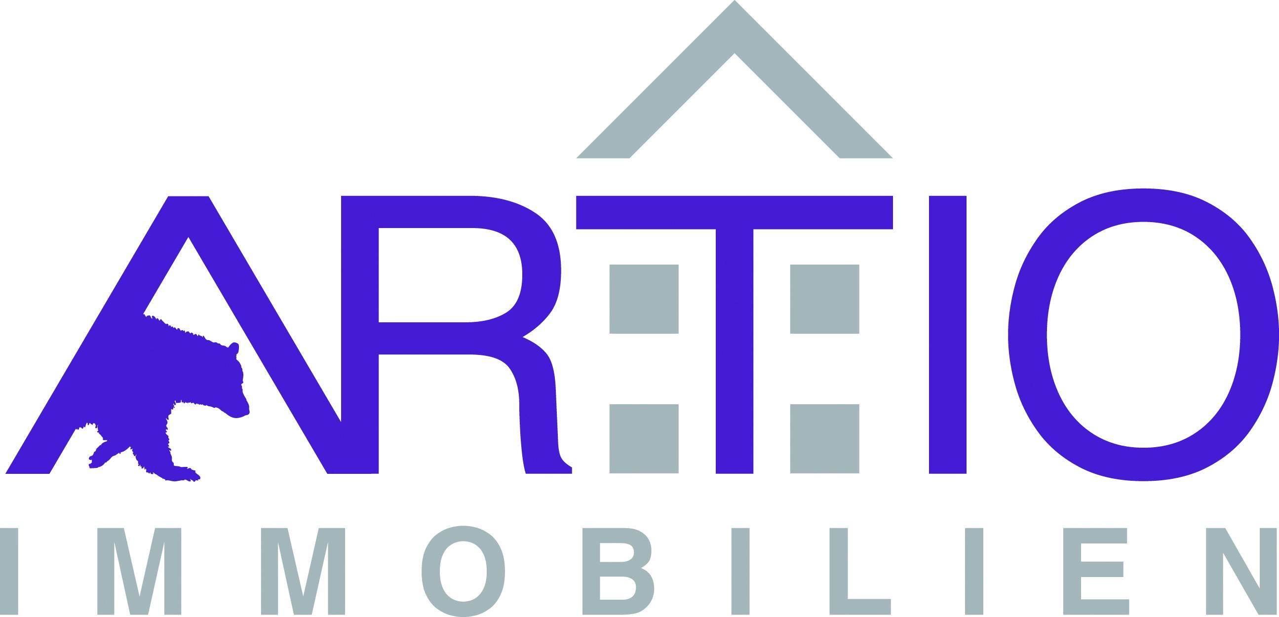 Hier sehen Sie das Logo von ARTIO Immobilien
