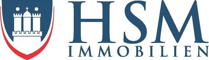 Hier sehen Sie das Logo von HSM-Immobilien OHG