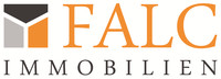 Hier sehen Sie das Logo von FALC Immobilien Aachen