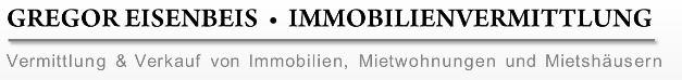 Hier sehen Sie das Logo von Gregor Eisenbeis Immobilien