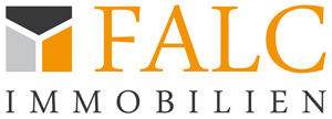 Hier sehen Sie das Logo von FALC-Immobilien