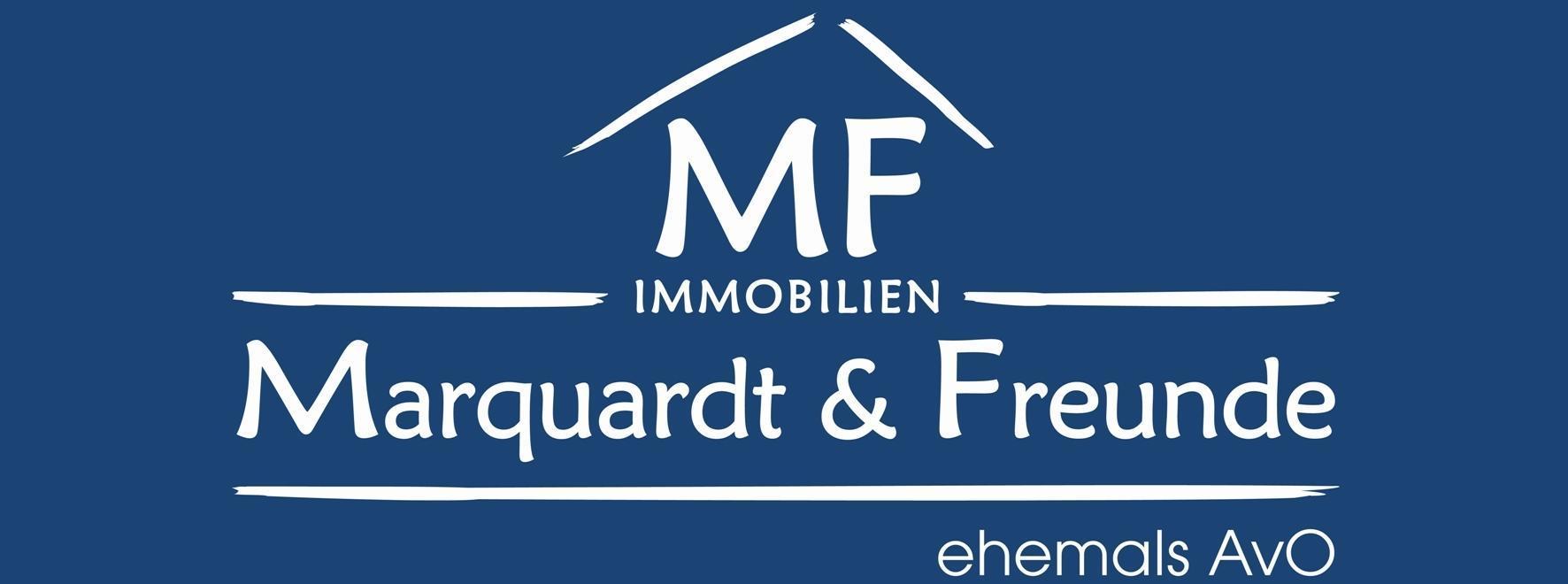 Hier sehen Sie das Logo von Marquardt & Freunde Immobilien e. Kfr.