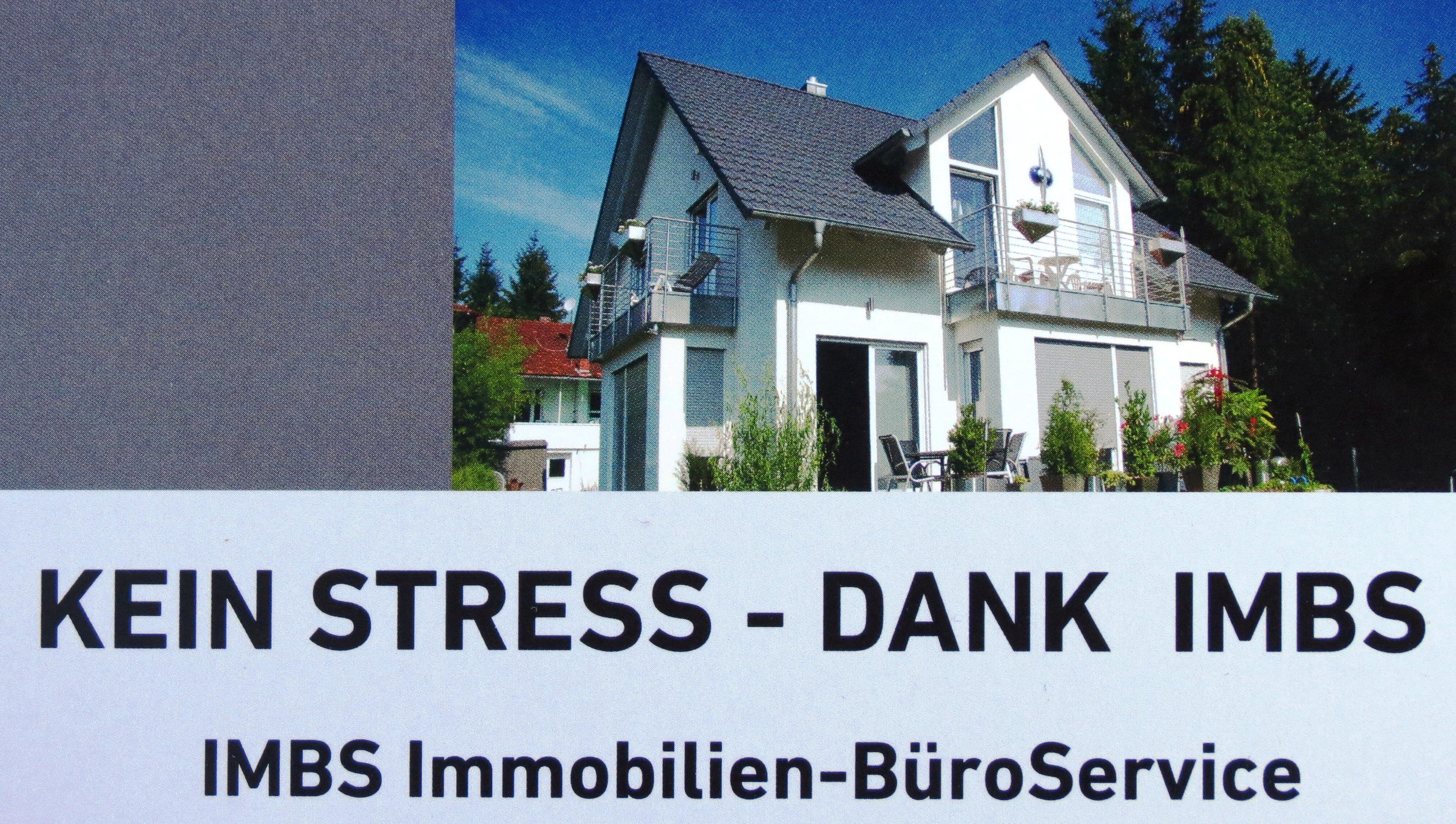 Hier sehen Sie das Logo von IMBS Immobilien-BüroService