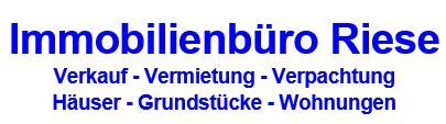Hier sehen Sie das Logo von Immobilienbüro Riese