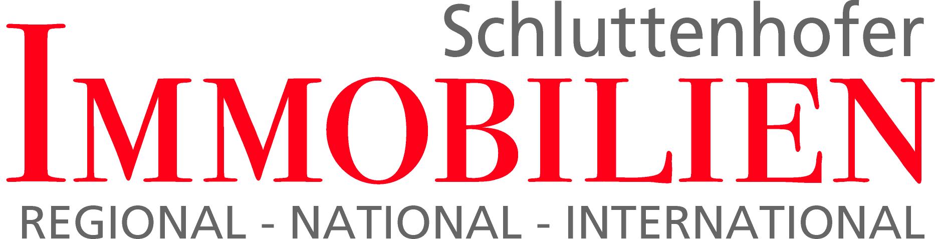 Hier sehen Sie das Logo von Schluttenhofer IMMOBILIEN