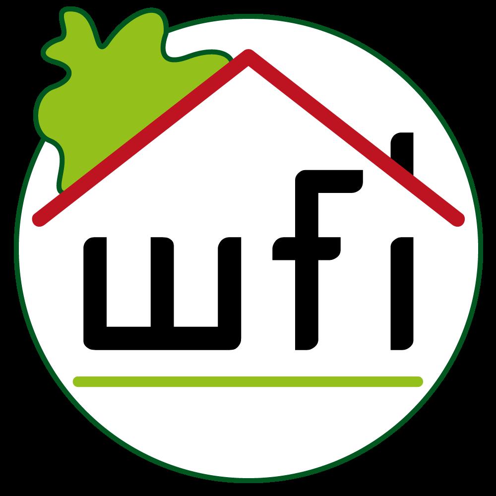 Hier sehen Sie das Logo von wfi- Wohlfühlimmobilien