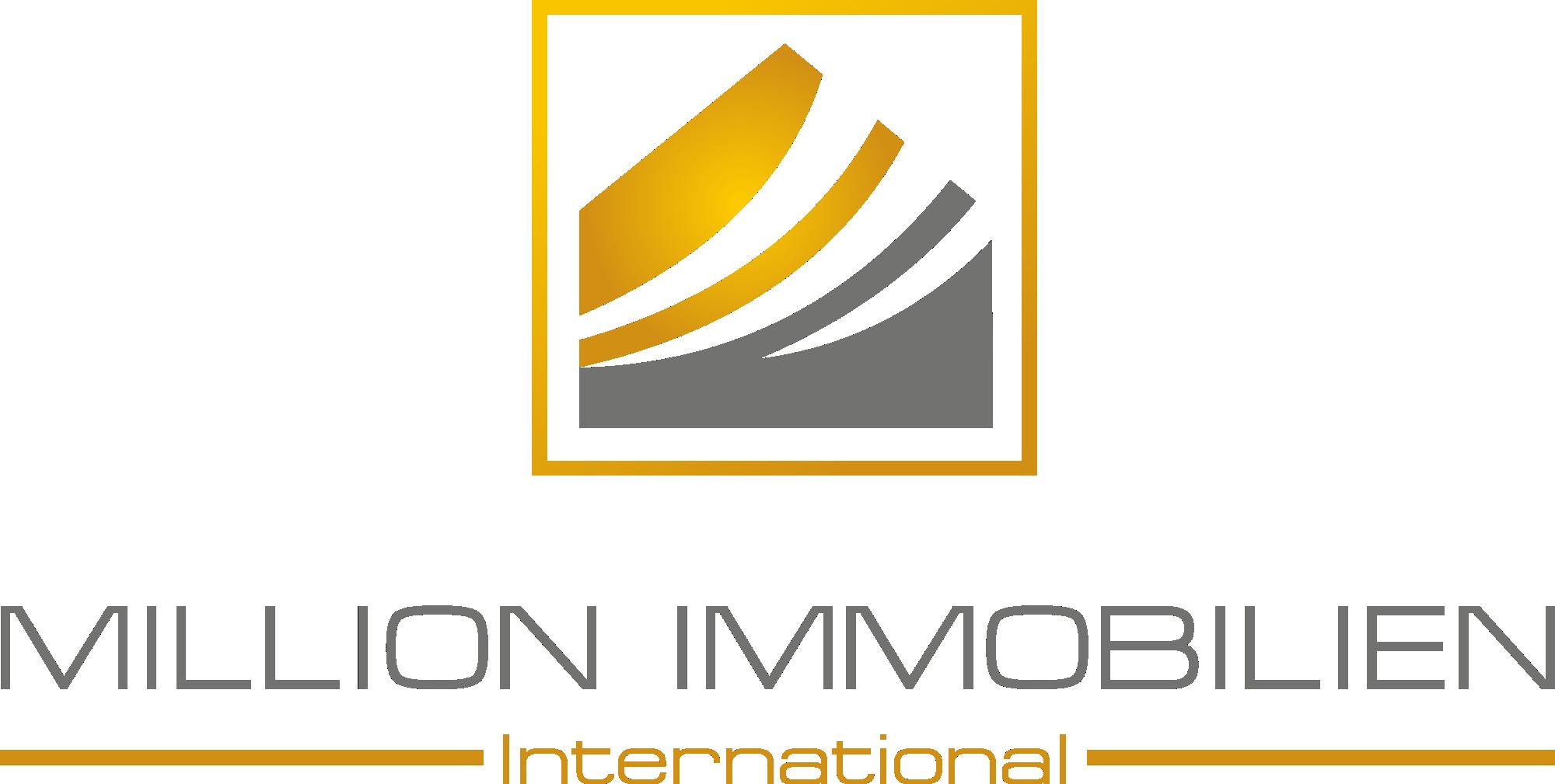 Hier sehen Sie das Logo von MILLION-Immobilien