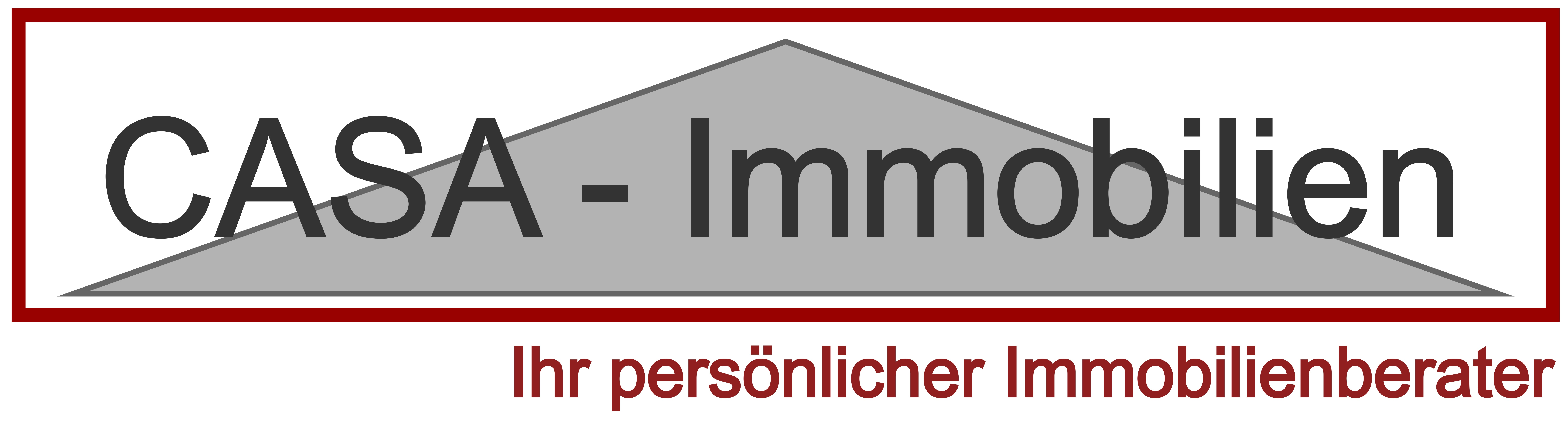 Hier sehen Sie das Logo von CASA-Immobilien