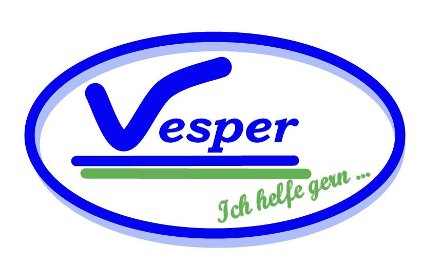 Hier sehen Sie das Logo von Vesper Dienos