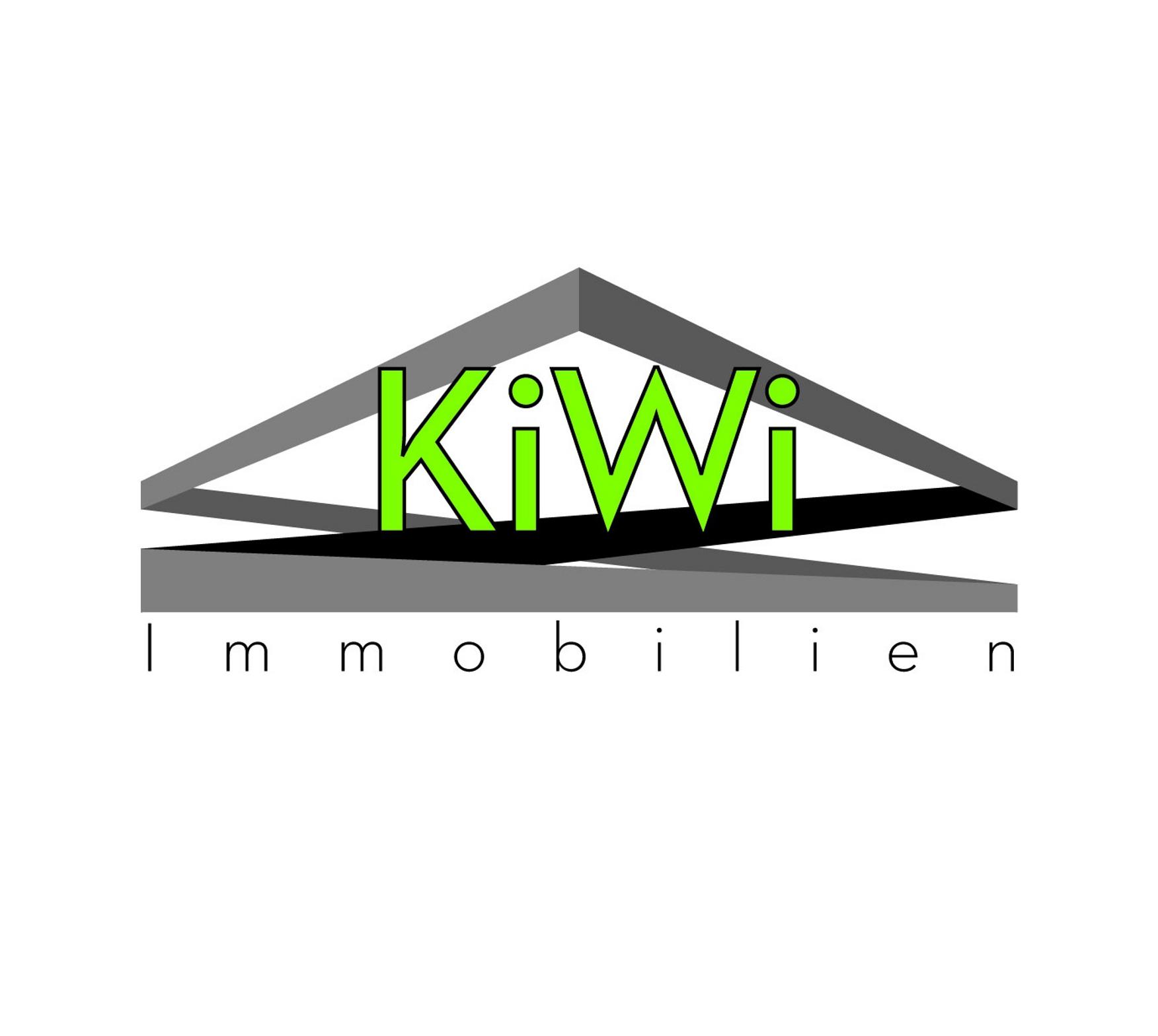 Hier sehen Sie das Logo von KiWi Immobilien