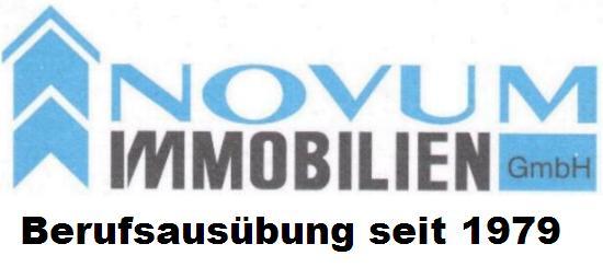 Hier sehen Sie das Logo von NOVUM IMMOBILIEN GMBH