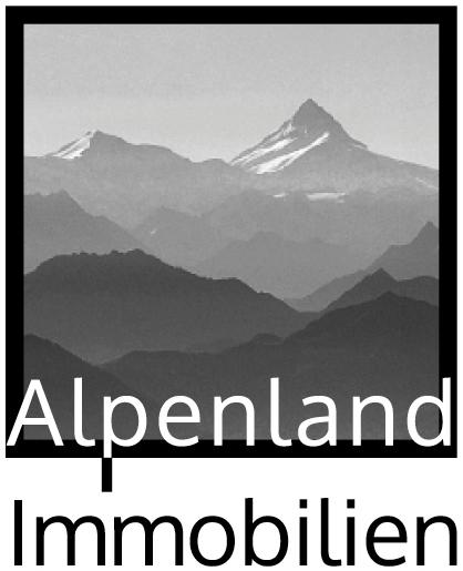 Hier sehen Sie das Logo von Alpenland Immobilien