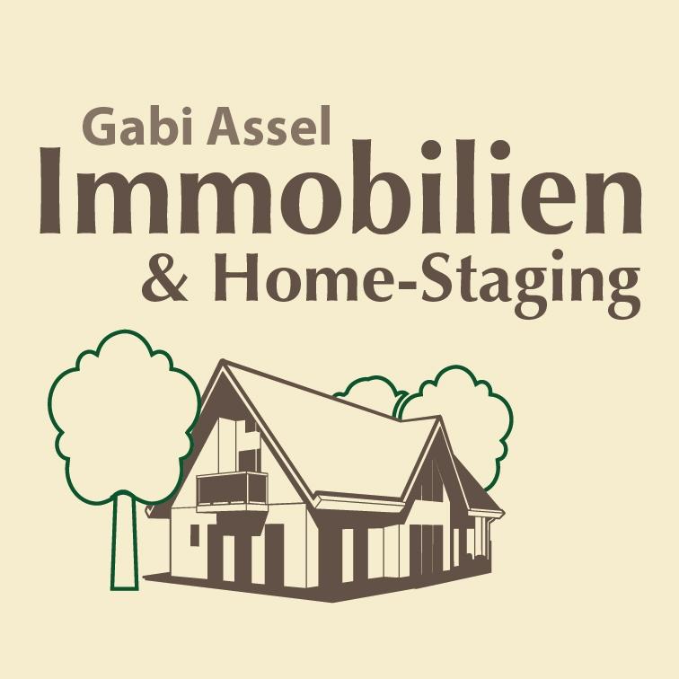 Hier sehen Sie das Logo von Gabi Assel Immobilien & Home-Staging