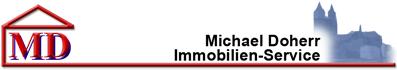 Hier sehen Sie das Logo von MD Michael Doherr Immobilien-Service