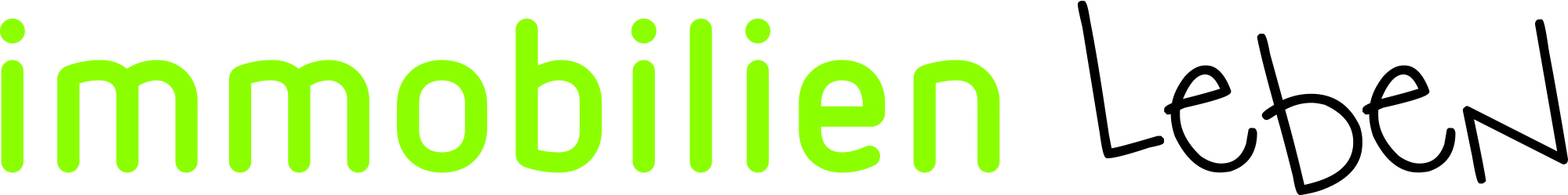 Hier sehen Sie das Logo von immobilienleben GmbH