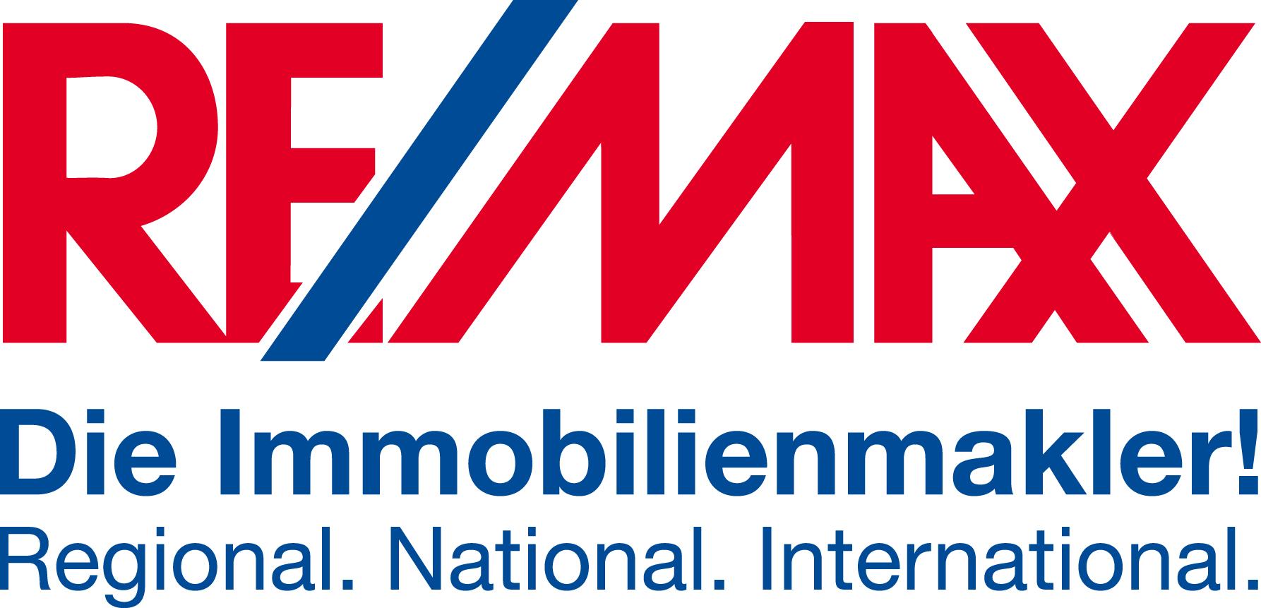 Hier sehen Sie das Logo von RE/MAX in Herzogenaurach