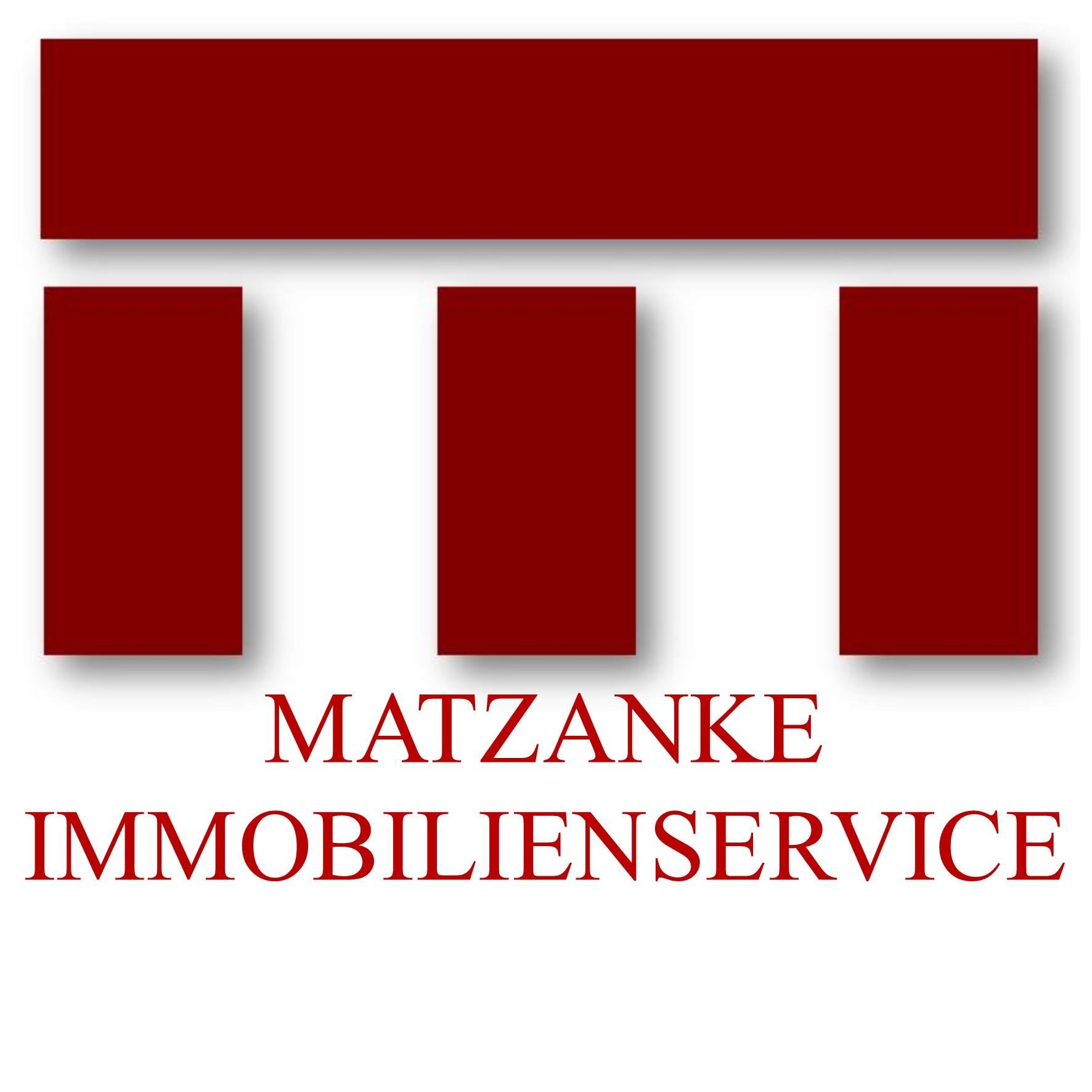 Hier sehen Sie das Logo von MATZANKE IMMOBILIENSERVICE