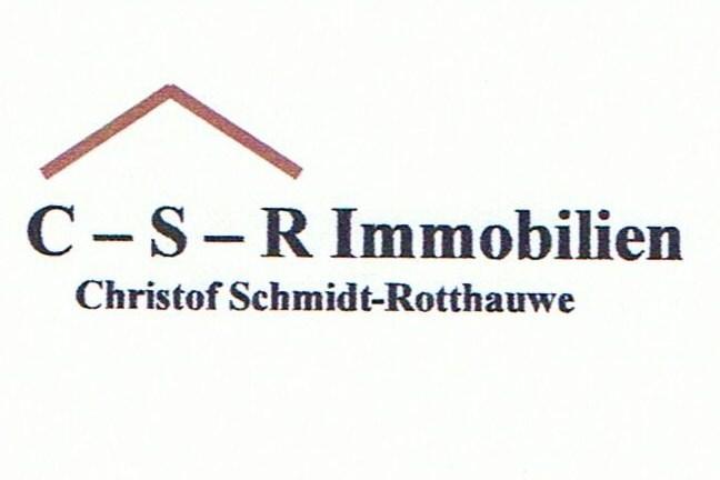 Hier sehen Sie das Logo von C-S-R Immobilien