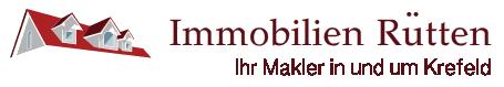 Hier sehen Sie das Logo von Immobilien Rütten