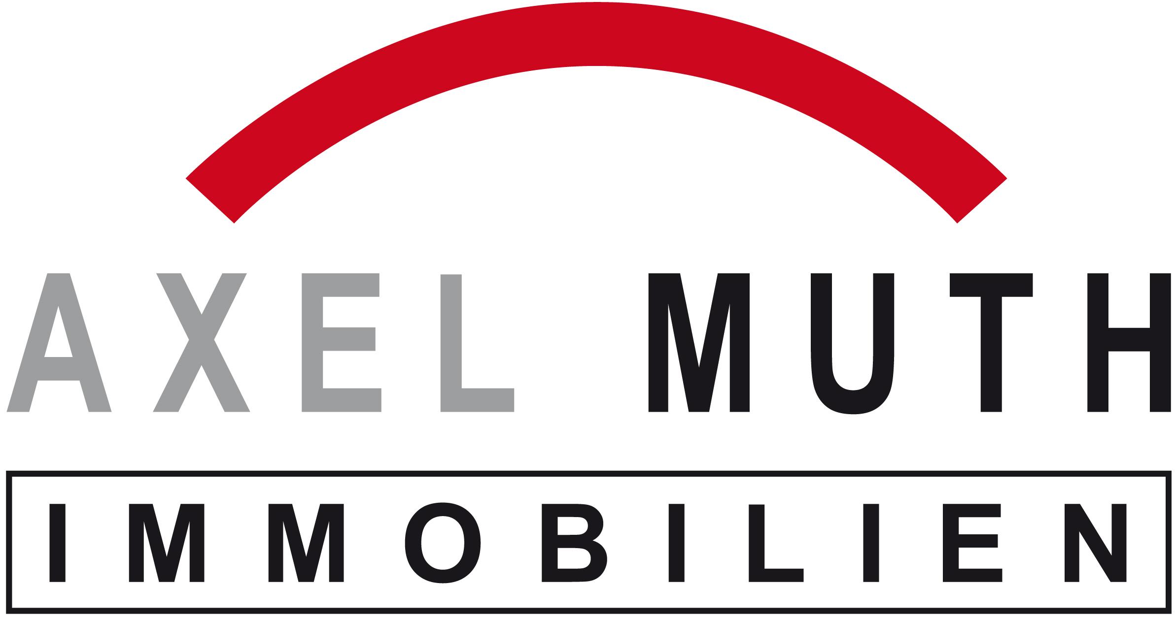Hier sehen Sie das Logo von Axel Muth Immobilien