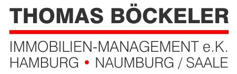 Hier sehen Sie das Logo von THOMAS BÖCKELER IMMOBILIEN-MANAGEMENT e.K. Hamburg.Naumburg