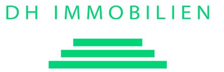 Hier sehen Sie das Logo von DH Immobilien