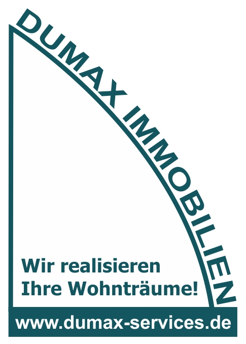 Hier sehen Sie das Logo von DUMAX Immobilien & Hausverwaltungen