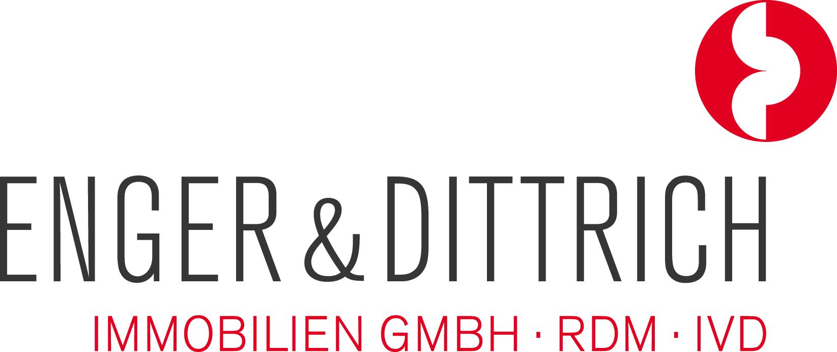 Hier sehen Sie das Logo von Enger & Dittrich Immobilien