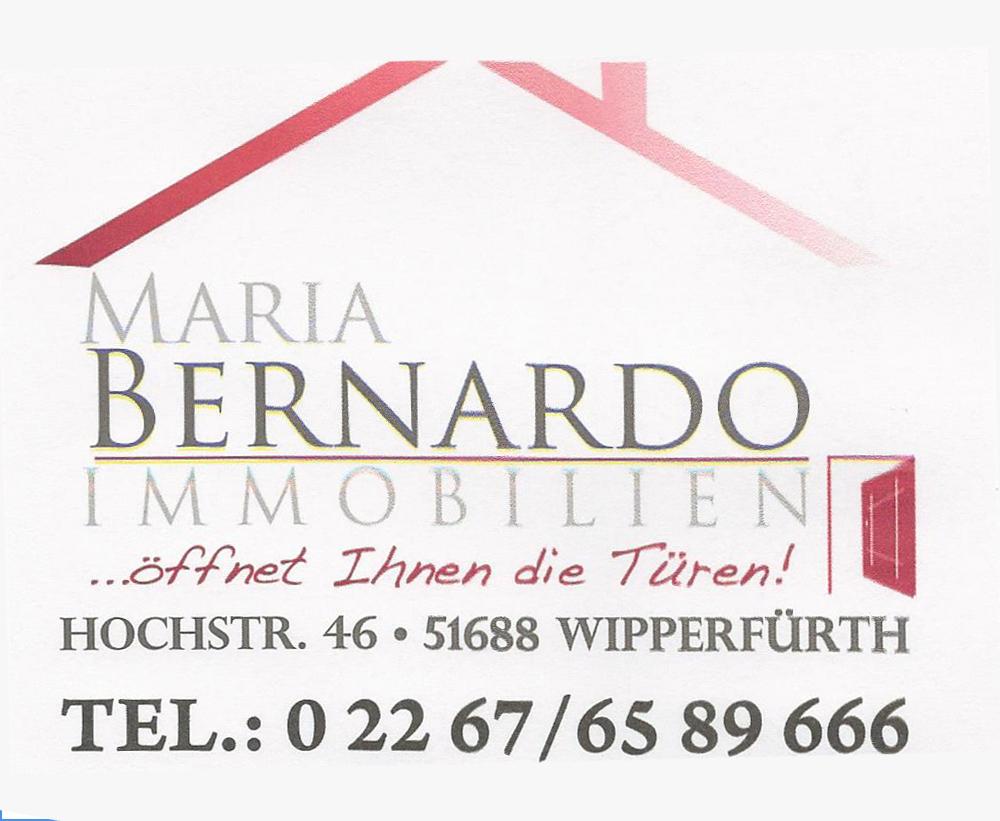 Hier sehen Sie das Logo von Bernardo Maria Immobilien