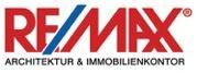 Hier sehen Sie das Logo von RE/MAX Architektur & Immobilienkontor