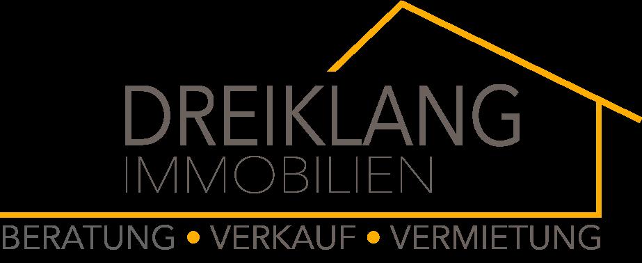 Hier sehen Sie das Logo von Dreiklang Immobilien