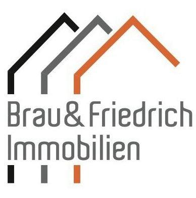 Hier sehen Sie das Logo von Brau & Friedrich Immobilien GbR