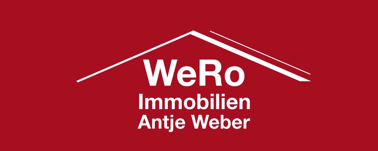 Hier sehen Sie das Logo von WeRo Immobilien Antje Weber