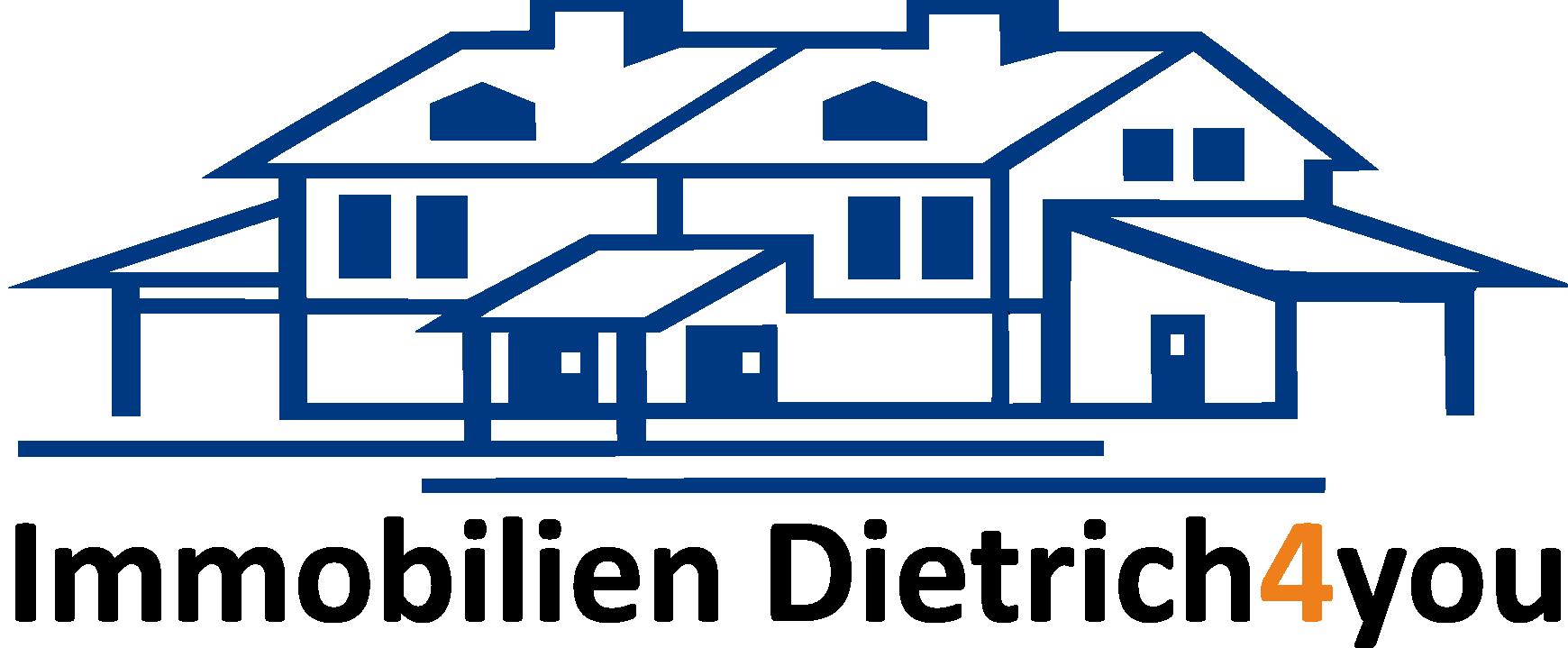 Hier sehen Sie das Logo von Immobilien Dietrich4you