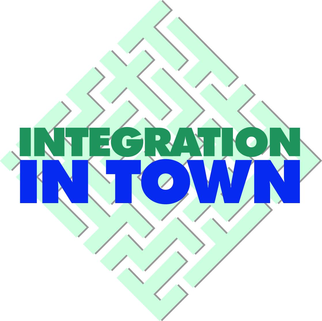 Hier sehen Sie das Logo von Integration in Town