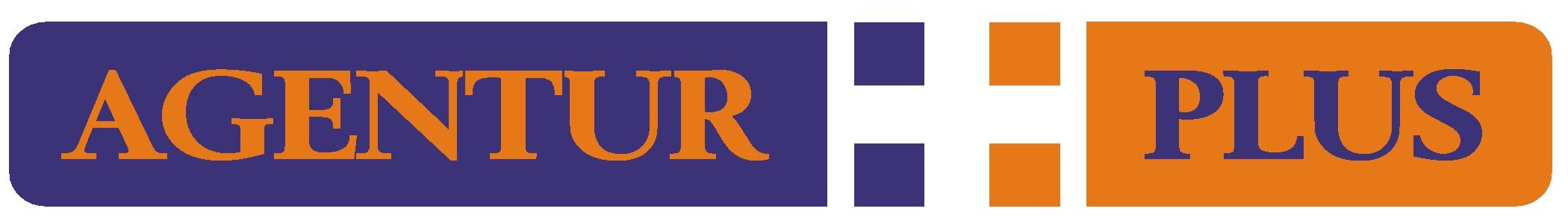 Hier sehen Sie das Logo von Agentur Plus